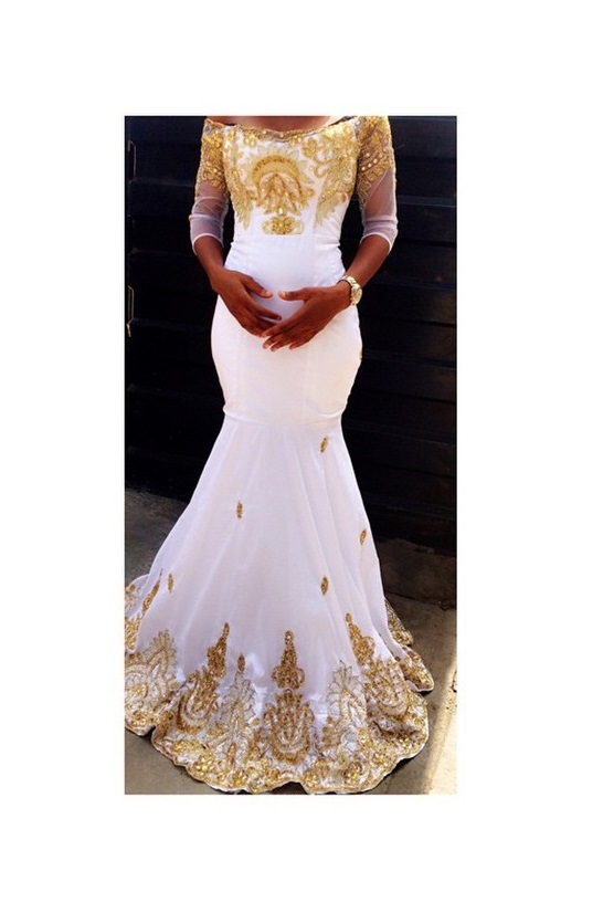 Robe Mariage Reference M019 Boutique Mode Africaine