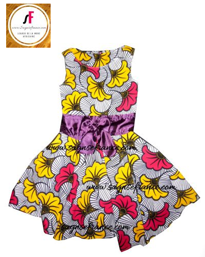 Robe Africaine Pour Fille Robe Wax Fille Sagnsefrance Com