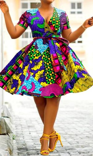 Robe Wax | Robe Pagne | Mode Africaine